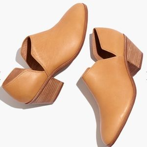 {Madewell} The Gloria Shoe Boot in Leather Size 7